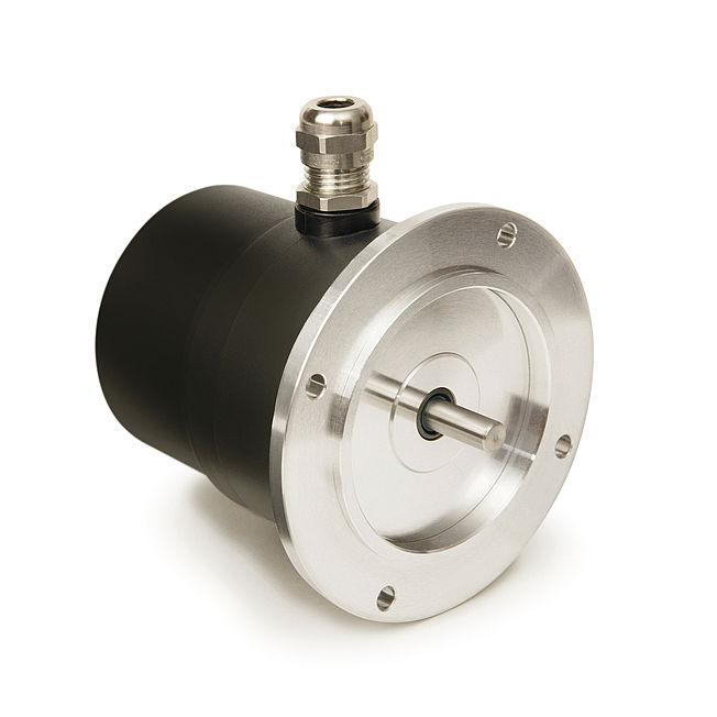 Geared potentiometer - Geared potentiometer GP03/1