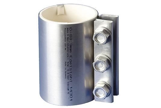 Stainless steel pipe couplings - null