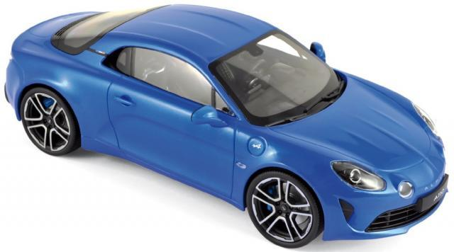 Modelisme Voiture - ALPINE A110 Premiè,re Edition 2017 // Blue