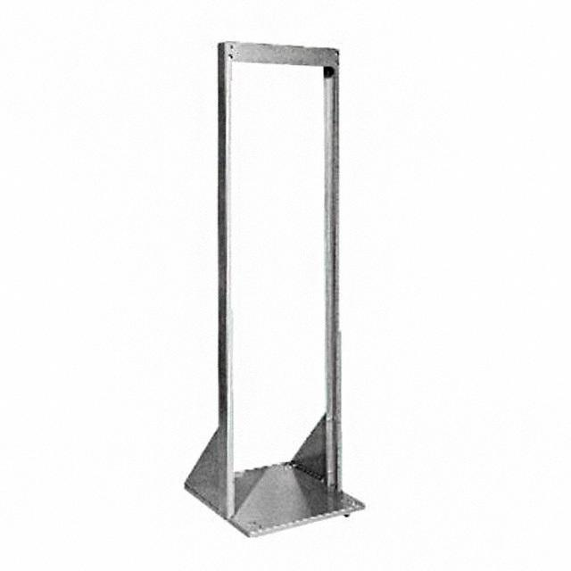 "RACK OPEN RELAY 66.5"" X 19"" BLK - Bud Industries RR-1264-BT"