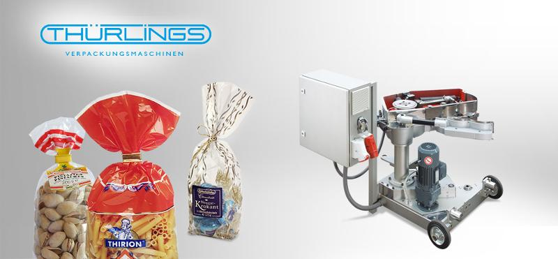 Bag opening and closing machine