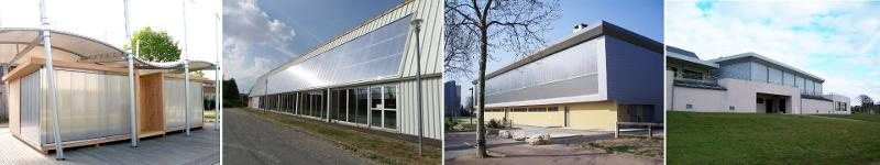 Polycarbonate Sheets (Building) - Akyver™ Panel Clip-On Systems