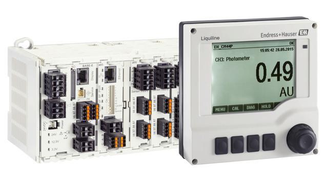 Transmetteur multivoie Liquiline CM44P -