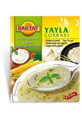 Farmer soup with yogurt - null