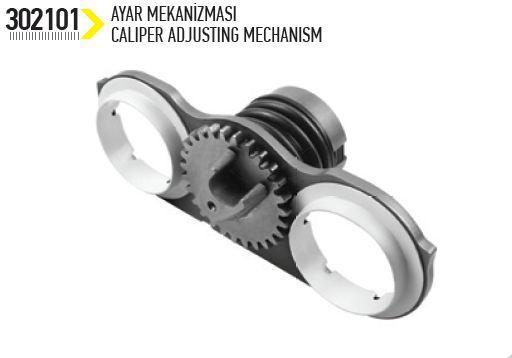 Meritor Adjusting Mechanism -