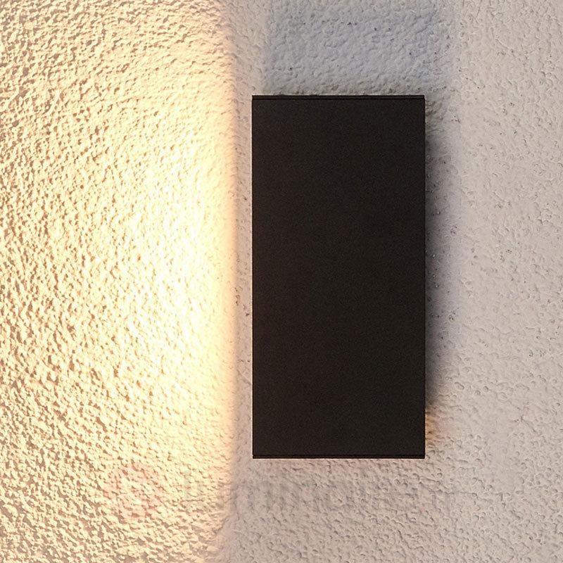 Applique d'extérieur LED Elies éclairage indirect - Appliques d'extérieur LED