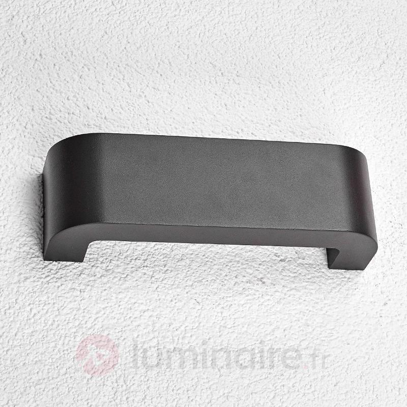 Applique d'extérieur LED Eberta, gris graphite - Appliques d'extérieur LED