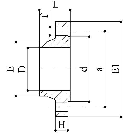 Flange a collare - Raccordi PVC