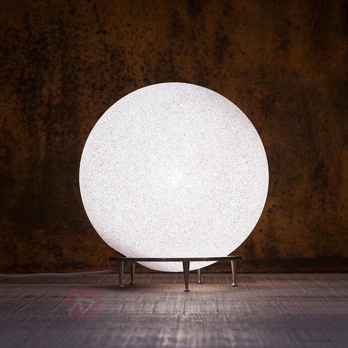 Lampe à poser ICEGLOBE aspect verre givré - Toutes les lampes à poser