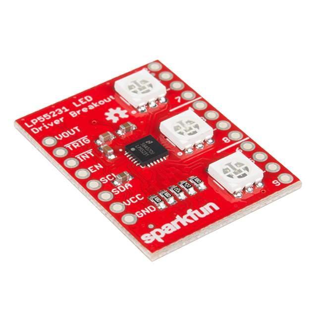 LED DRIVER BREAKOUT - LP55231 - SparkFun Electronics BOB-13884
