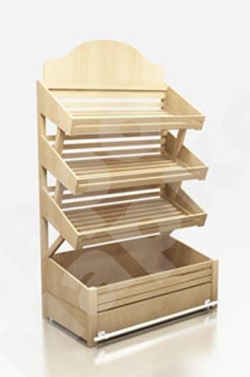 Shelving for shops  - Bread shelf stand