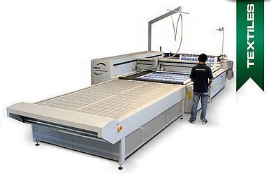 CO₂-Lasermaschine für Textilien