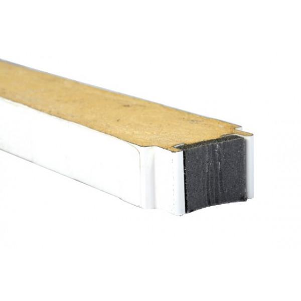 PUR-Paneel 80 - Schnittlänge L = 2100 mm, Breite 1000 mm - Kälte Kühlraum