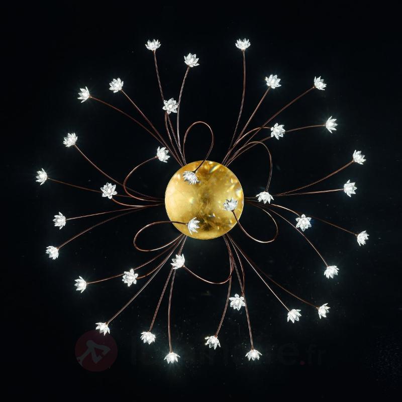 Grand plafonnier cristal FIORELLA 190 cm - Plafonniers en cristal