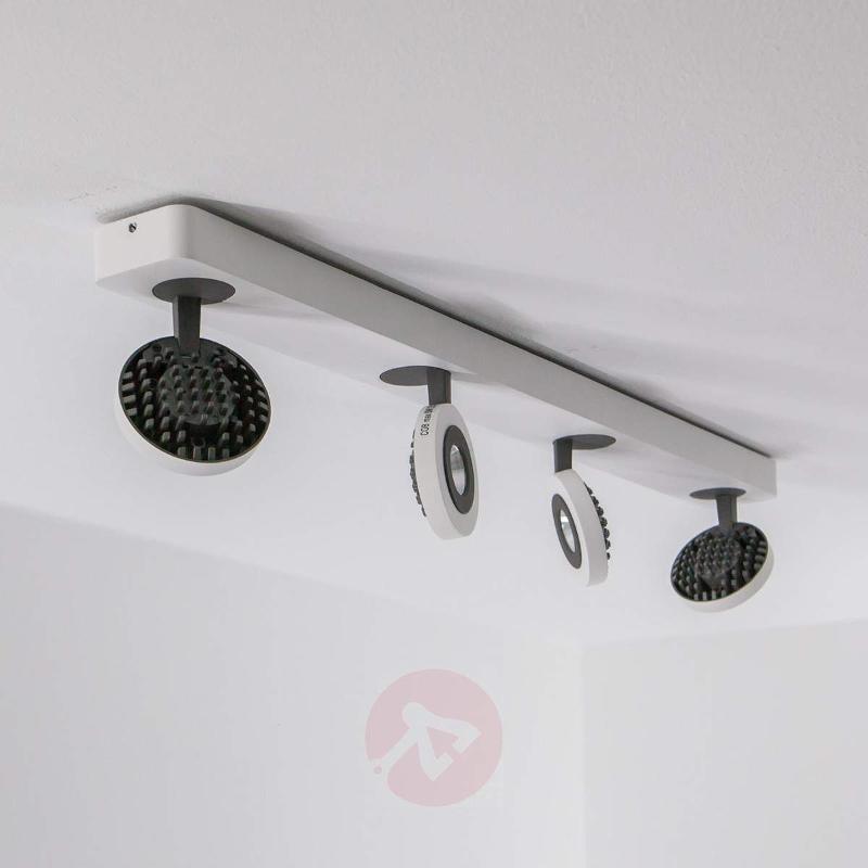 4-bulb Cassanda LED ceiling spotlight - Ceiling Lights