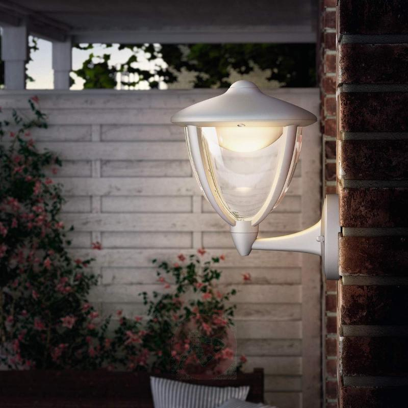 White LED outdoor wall light Robin - Outdoor Wall Lights