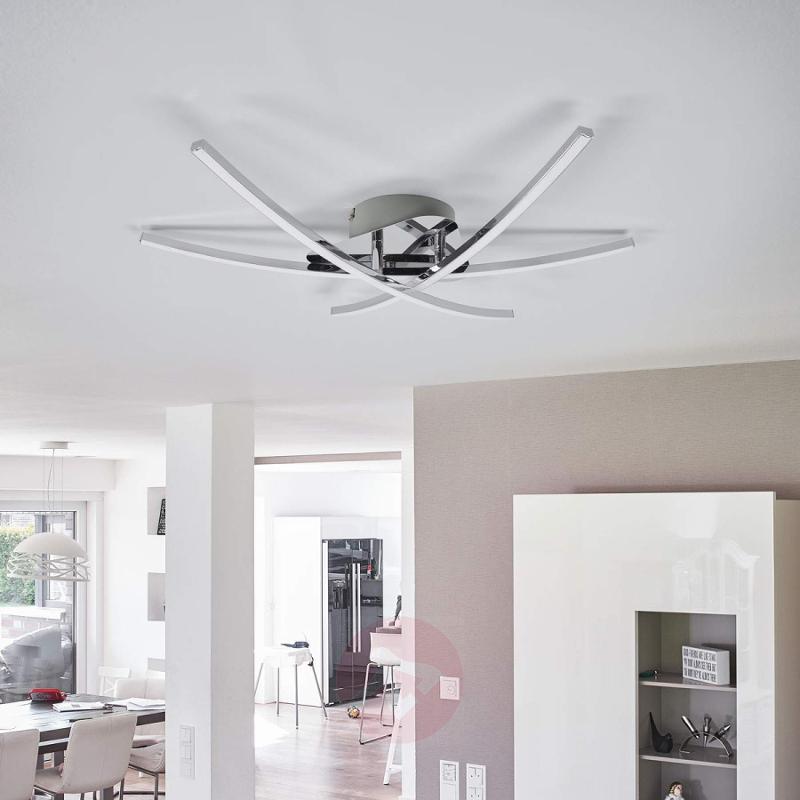 LED ceiling lamp Jakoba with a modern design - indoor-lighting
