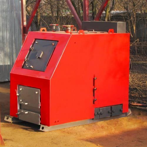 Лучший твердотопливный котел с ручной загрузкой - Твердотопливный котел Ретра-3М, мощностью от 400 до 2000 кВт