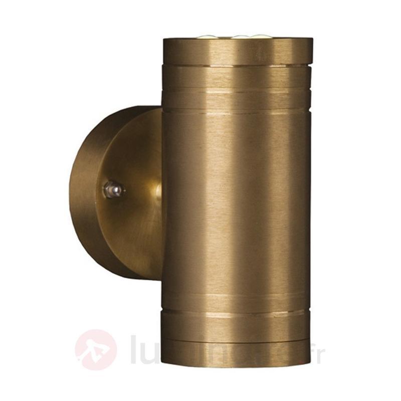 Applique d'extérieur LED ELITE 2 en cuivre naturel - Appliques d'extérieur cuivre/laiton