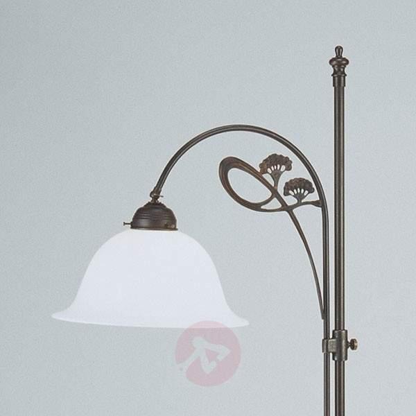 Ilka subtle floor lamp, antique colour scheme - Floor Lamps