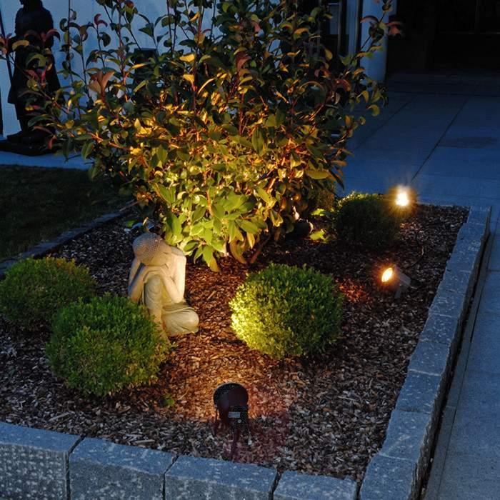 Functional LED Power outdoor spotlight - Outdoor Spotlights