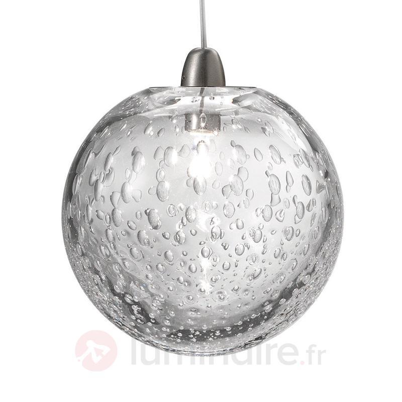 Suspension avec boule de verre Bolle, Ø 16 cm - Suspensions design