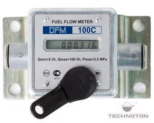 Le débitmètre de carburant DFM - est conçu pour mesurer la consommation de carburant diesel dans les véhicules