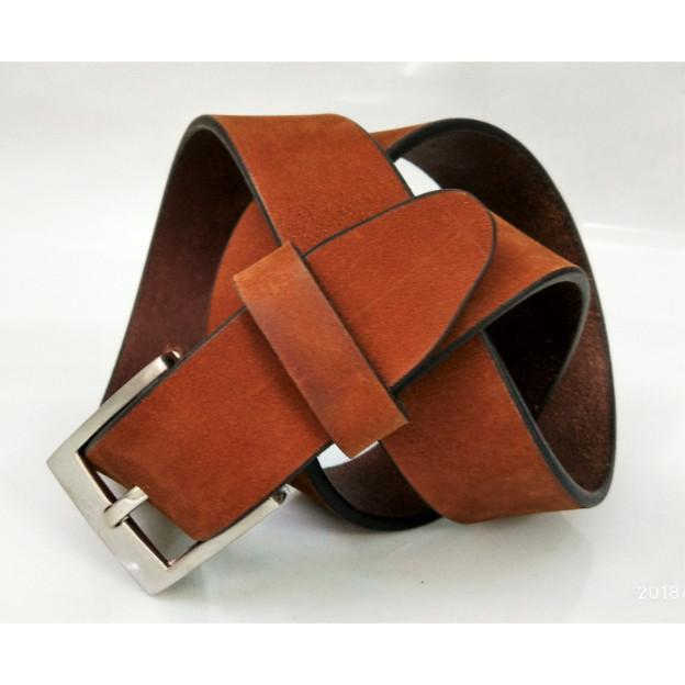 English leather belt  - English leather grain belt for men