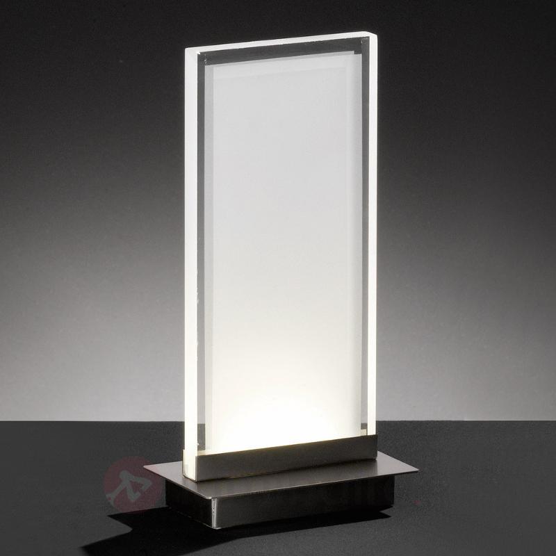 Lampe à poser LED rectangulaire Forma - Lampes à poser LED