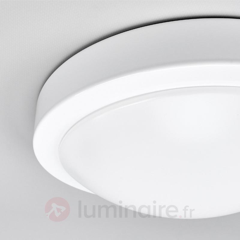 Plafonnier salle de bain LED Aras, blanc - Salle de bains