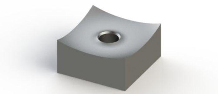 Schneidkrone 60x60x30 mm für VECOPLAN® Shredder und... - null