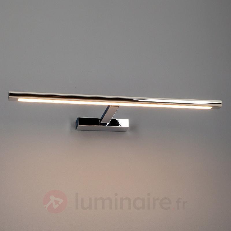 Applique tableau LED Luciana chromée - Appliques à tableaux