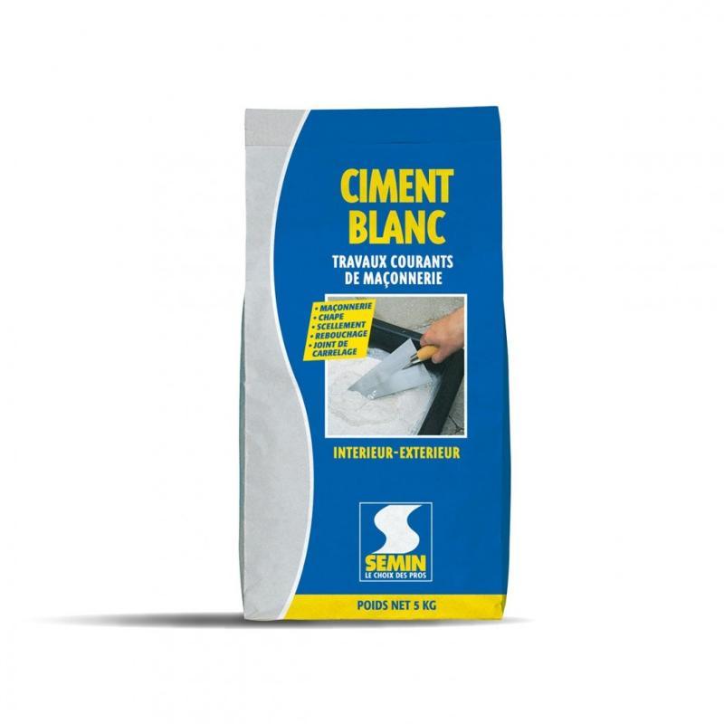 Ciment blanc - null