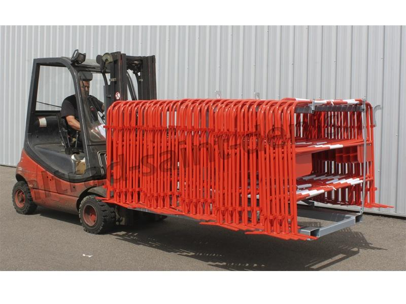 Cadre de rangement pour barrières TP - Barrières