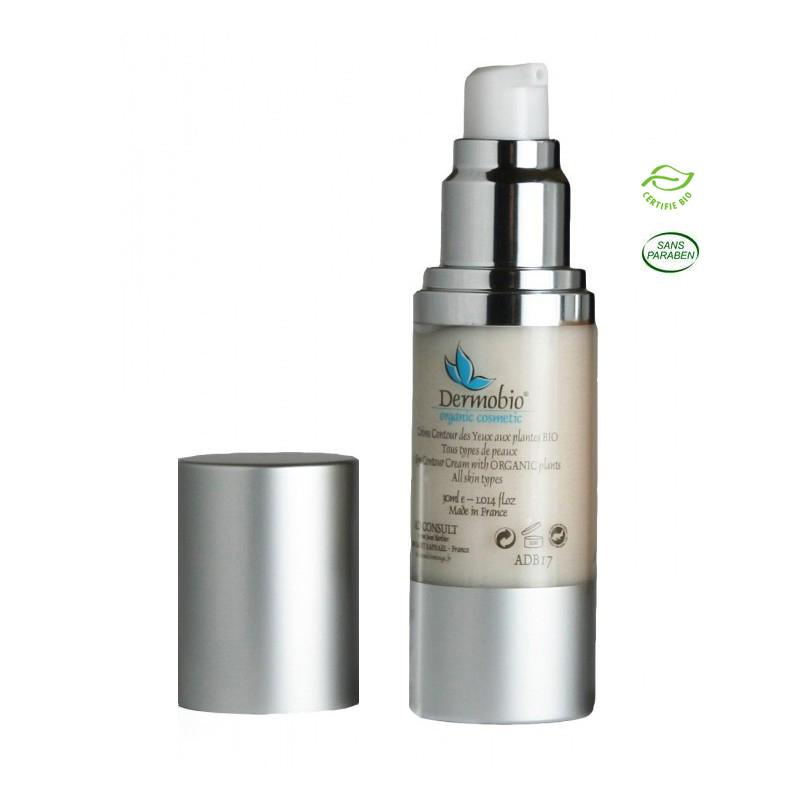 Eye Contour Cream – Organic - Flacon 30ml airless. PARABEN FREE Réf.