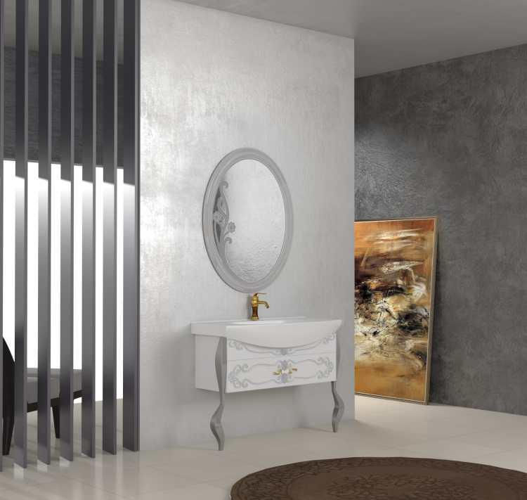 Princess Vanity (BA1053-100) - Bathroom vanity