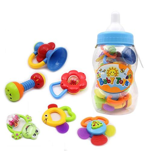 Baby's First Rattle and Teether Toy