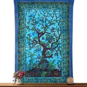 Tree of Life Tapestry Wall Hanging Bohemian Dorm Decor