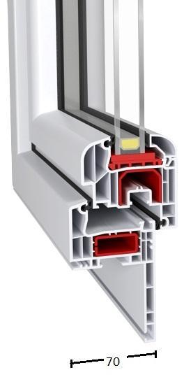 Renovo Id 4000-70 (PVC Windows - Aluplast) - Renovo Id 4000 70mm