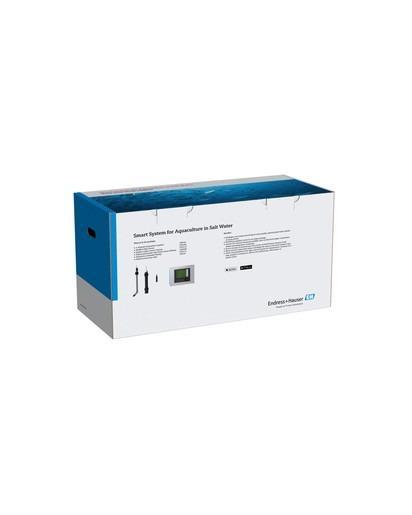 Netilion Smart System für Aquakulturen - Paket mit Sensoren, die die Wasserqualität in Aquakulturen überwachen.