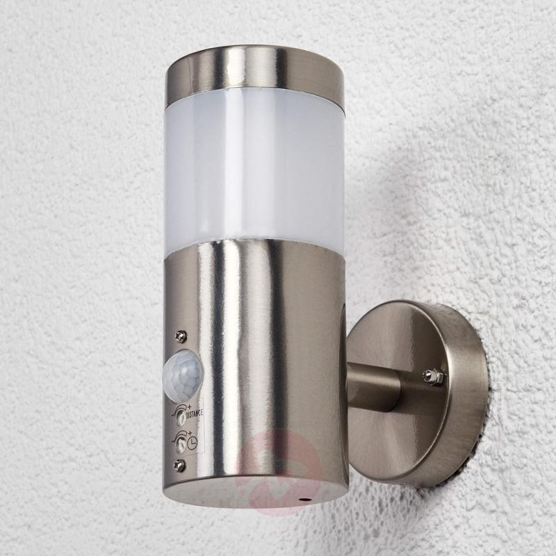 Motion detector LED outdoor wall lamp Belina - outdoor-led-lights