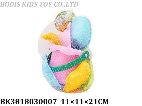 Soft sand bucket tools set - Item No.: BK3818030007