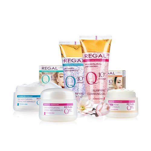 Regal Q10+ Sin Parabenos - Regal Q10+ para reducir y prevenir el envejecimiento de la piel