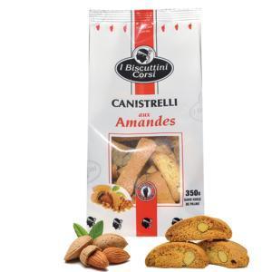 Biscuttini Amandes - 350 Gr - null