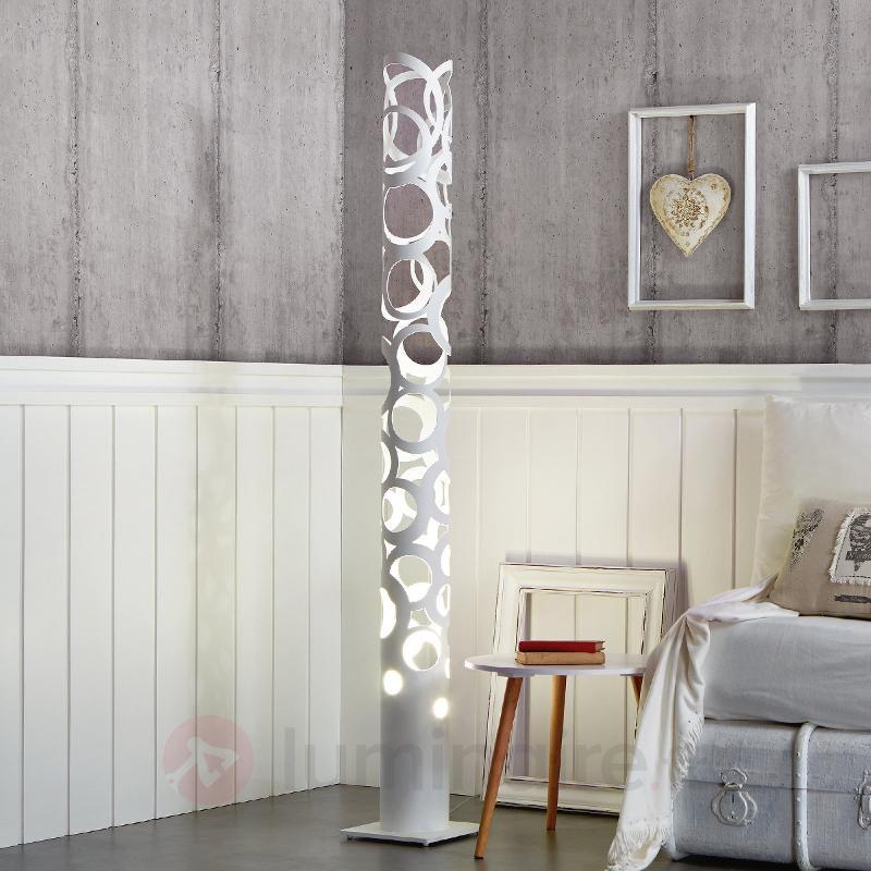 Lampadaire Thor blanc - Lampadaires design