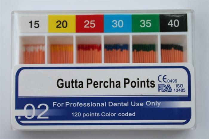 Points de gutta percha