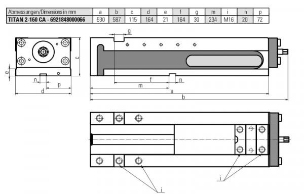 Version TITAN 2-160 Clamp assist - Version TITAN 2-160 Clamp assist