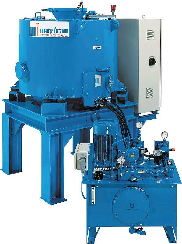 LBC SWARF CENTRIFUGES - Coolant Filtration Systems