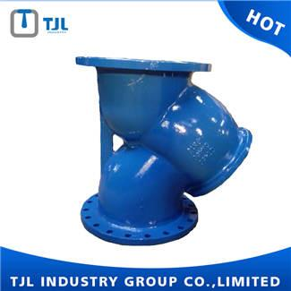 Dn450 Cast Iron Y Filter - Filter and Air Valve