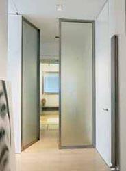 Porte d'ingresso vetro/acciaio - Porte d'ingresso vetro/acciaio